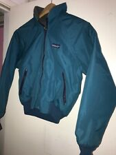 Patagonia Fleece Lined Blanket Jacket Classic Logo Size 7-8 See Measurements