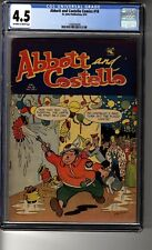 Abbott and Costello #18 - CGC 4.5 OW/White Pages - Lets Celebrate