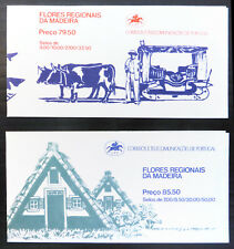 MADEIRA 1981/2 Flowers Booklets Complete SB1/2 NB3054