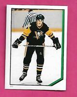 1986-87 OPC # 233 PENGUINS MARIO LEMIEUX  STICKER CARD  (INV# D6015)