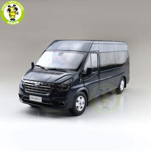 1/18 Ford Transit PRO With Lights Van Cargo Diecast Model Toys Car Boys Gifts