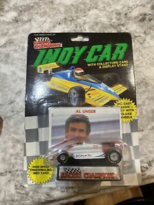 Racing Champions IndyCar Al Unser Sr. #25 1:64 Scale Indy Car 1989 New