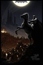 Dark Knight Returns limited edition Batman art print by JC Richard AP /37 Mondo