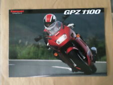 kawasaki GPZ1100   ZX1100    brochure publicité folder prospekt