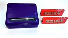 Automatic Rolling Machine Tobacco Case Tin Roller PURPLE 2 RIZLA Red Booklets