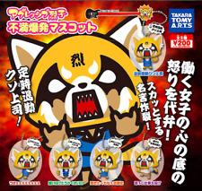 Sanrio AGGRETSUKO Aggressive Retsuko Mini Figure Mascot Ball Chain Gashapon