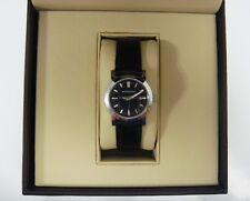 $475 Burberry BU1355 Heritage Black Dial & Leather Strap Women's Watch