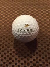 Logo Golf Ball-Bny Mellon Wealth Management.Financial.Prov 1 Ball