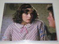 Lea Thompson Signed 11x14 Back to the Future Photo Autograph Beckett BAS COA