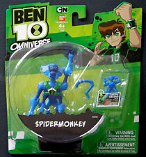 BEN 10 OMNIVERSE - SPIDERMONKEY Omnitrix Mini Figure - Cartoon Network BANDAI