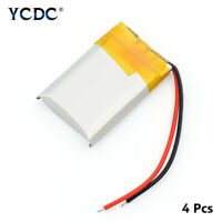 4PCS 3.7V 300MAH LI-ION BATTERY 602030 FOR MP3 MP4 GPS PSP BLUETOOTH HEADSET 60