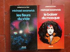 Présence du Futur * Michael Swanwick * 2 Volumes * Denoël * BE