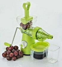 Slow Masticating Manual Auger Juicer Wheatgrass Juice Press Vegetable Extractor
