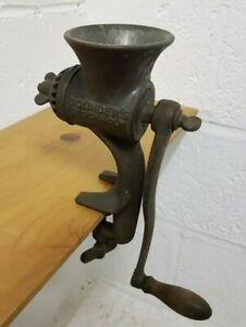 Vintage Coffee Grinder Bolinders Stockholm Table Top Kitchenalia Mill