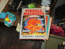 Pinball-Machines-Book-HERIBERT-EIDEN-JuRGEN-LUKAS-Excellent  Pinball-Machines