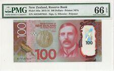 NEW ZEALAND P195a 100 DOLLAR 2016 PMG 66 EPQ POLYMER