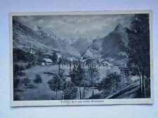 PLEZZO Pletz Bovec Slovenia Slovenija vecchia cartolina