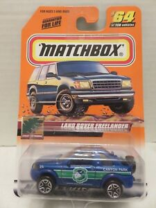 2000 Matchbox Land Rover Freelander Die-Cast Great Outdoors Canyon Park Mattel