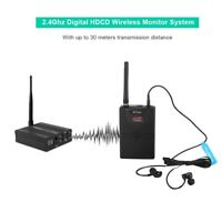 Wireless Monitor Audio System Digital In Ear On Stage Professional 2.4GHz WMS02