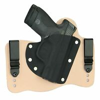 FoxX Leather & Kydex IWB Holster Smith & Wesson M&P Shield 9mm & 40 Natural RH
