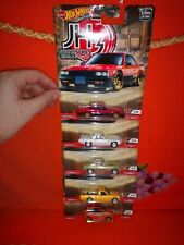 # 1/64 HOT WHEELS PREMIUM - SET 5 PEZZI - JAPAN HISTORICS 3 JH3 #