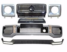 Mercedes W463 G class AMG BODY KIT front bumper G63 + grille + leds + front lip