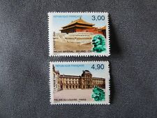1998-2 TIMBRES FRANCE-CHINE-LOUVRE/PALAIS IMPERIAL