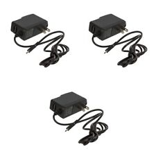 3X Micro USB Wall Charger Accessory Black 1 Amp for Cell Phones
