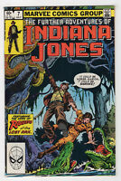 Further Adventures of Indiana Jones #7 (Jul 1983, Marvel) Michelinie Gammill c