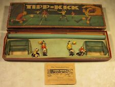 Vintage Antique Original Pre-War Tipp-Kick Board Game Complete W/Box Germany