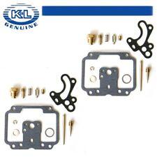 2 Carb carburetor Kits Kawasaki 76-79 KZ750 kit KZ750B K/&L 18-2464 2 Cylinder
