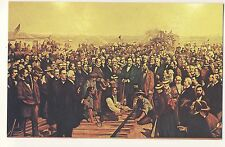 Old Postcard - Completion of Trans-Continental Railway - Unposted 2284