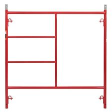 5'x 5' Red  Scaffolding • 1 5/8
