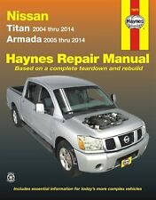 Nissan Titan, Armada Repair Manual: 2004-2014