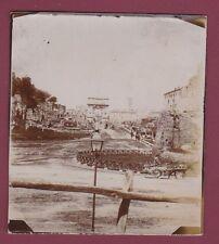 PHOTO - 200414 - ITALIE ROME - ruines et porte romaine