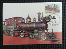 BRASIL MK EISENBAHN TRAIN STEAM LOCOMOTIVE MAXIMUMKARTE MAXIMUM CARD MC CM c1789
