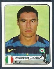 PANINI 1955-2005 CHAMPIONS OF EUROPE- #147-INTER & COLOMBIA-IVAN RAMIRO CORDOBA