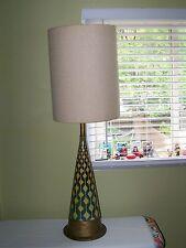 Fabulous Large Original Mid Century Modern Table Lamp Raymor Danish design Era