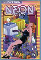 Neon City #1 1991 Nick Anastasio Joseph Dunn Innovation Comics