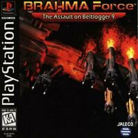 Brahma Force Playstation Game PS1 Used Complete