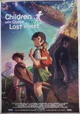 CHILDREN WHO CHASE LOST VOICES   Sentai Filmworks  Poster  39 x 27