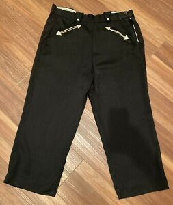 Vintage 40s 50s H Bar C Ranchwear Gabardine Rockabilly Pearl Snap Western Pants