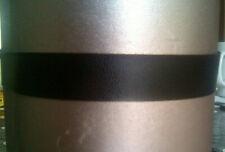Sexy Black Leatherette PVC Choker Silver Plated Fastenings Goth Rock BikerEmo