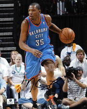 KEVIN DURANT AUTOGRAPH SIGNED 8X10 PHOTO THUNDER WARRIORS