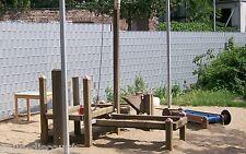 Doppelstabmatten 70m 1430mm grün Gittermatten Stahlgitterzaun Metallzaun Zaun