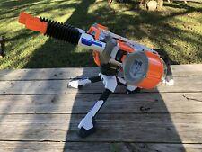 "Nerf Elite N-Strike Rhino-Fire Blaster Gun 2 Round drum Mags And Tri-Pod ""nice"""
