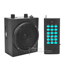Remote Control Electronic Bird Caller Hunting Decoy Speaker Predator MP3 Player