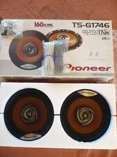 Paire HAUT-PARLEURS PIONEER  TS-G1746  160 Watts  Diam: 17 cms