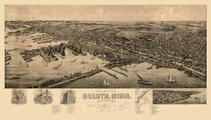 Duluth Minnesota - 1893 - 23.00 x 40.40