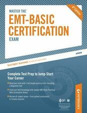 NEW - Master the EMT Basic Certification Exam by Peterson's